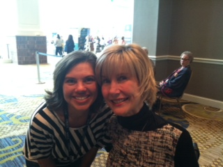 Joni Eareckson Tada and a teary eyed Charise!