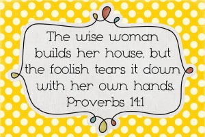 Wise Woman Prov 141